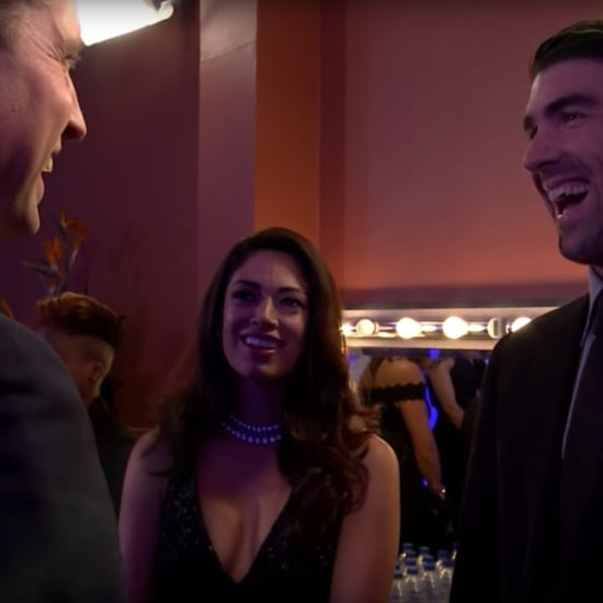 Prince William Joking With Michael Phelps About Being a Dad