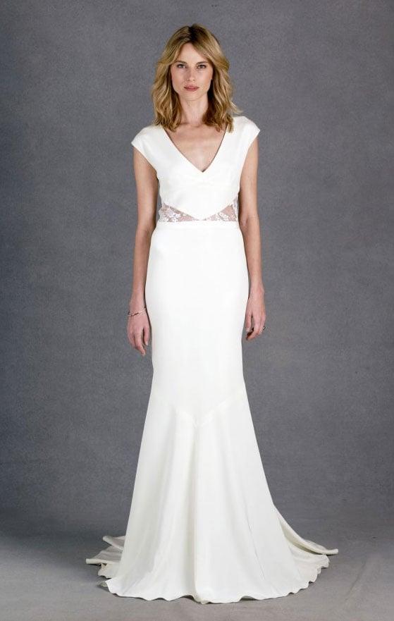 Nicole miller kimberly bridal gow 1 400 best beach for Nicole miller beach wedding dress