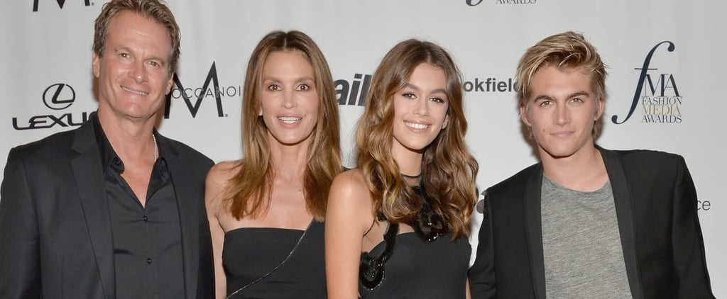 Cindy Crawford and Her Family Made a Seriously Fierce Foursome at NYFW