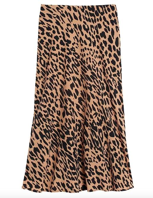 Print Slip Skirt
