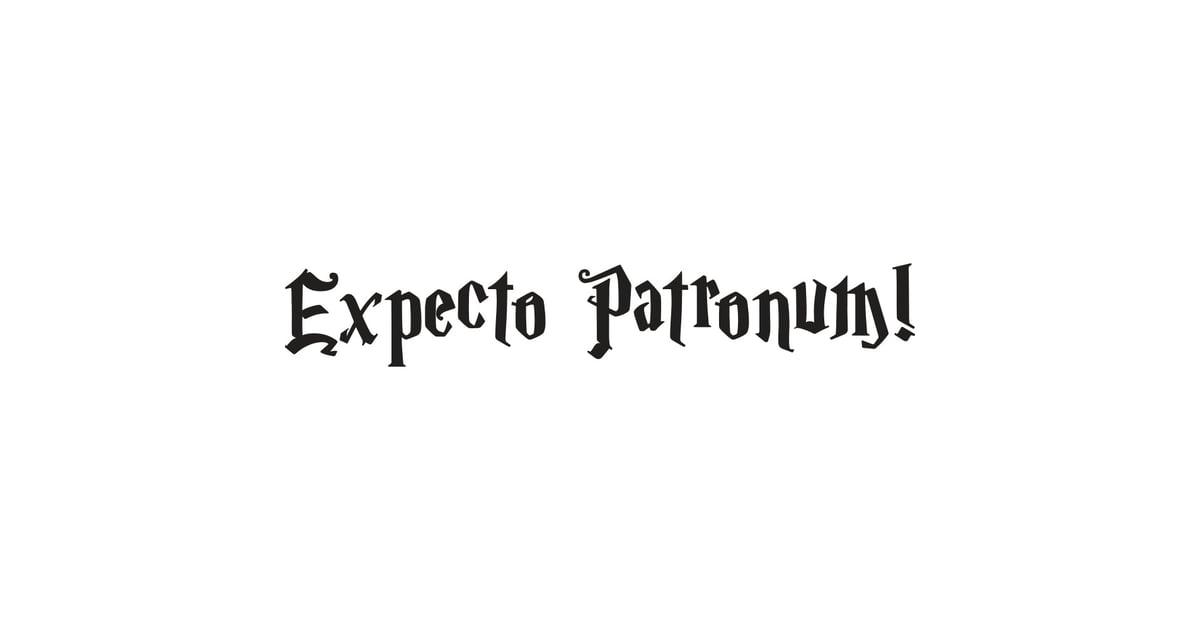 Expecto Patronum Free Harry Potter Pumpkin Templates