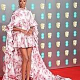 BAFTA Awards 2020: Ella Balinska's Makeup Look