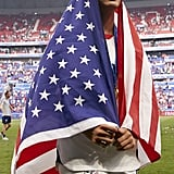 Mallory Pugh at the Women's World Cup