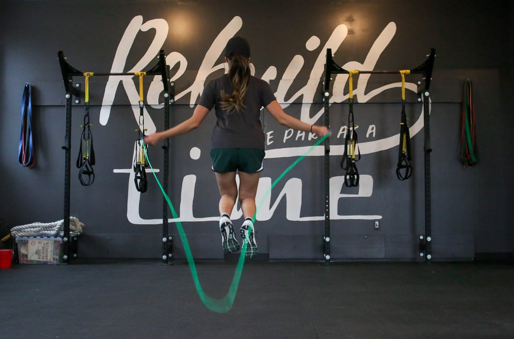 Jump rope (it's great exercise!)