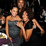Alicia Keys, Jennifer Hudson, and Whitney Houston attended Keep A Child Alive's Black Ball in 2010 in NYC.