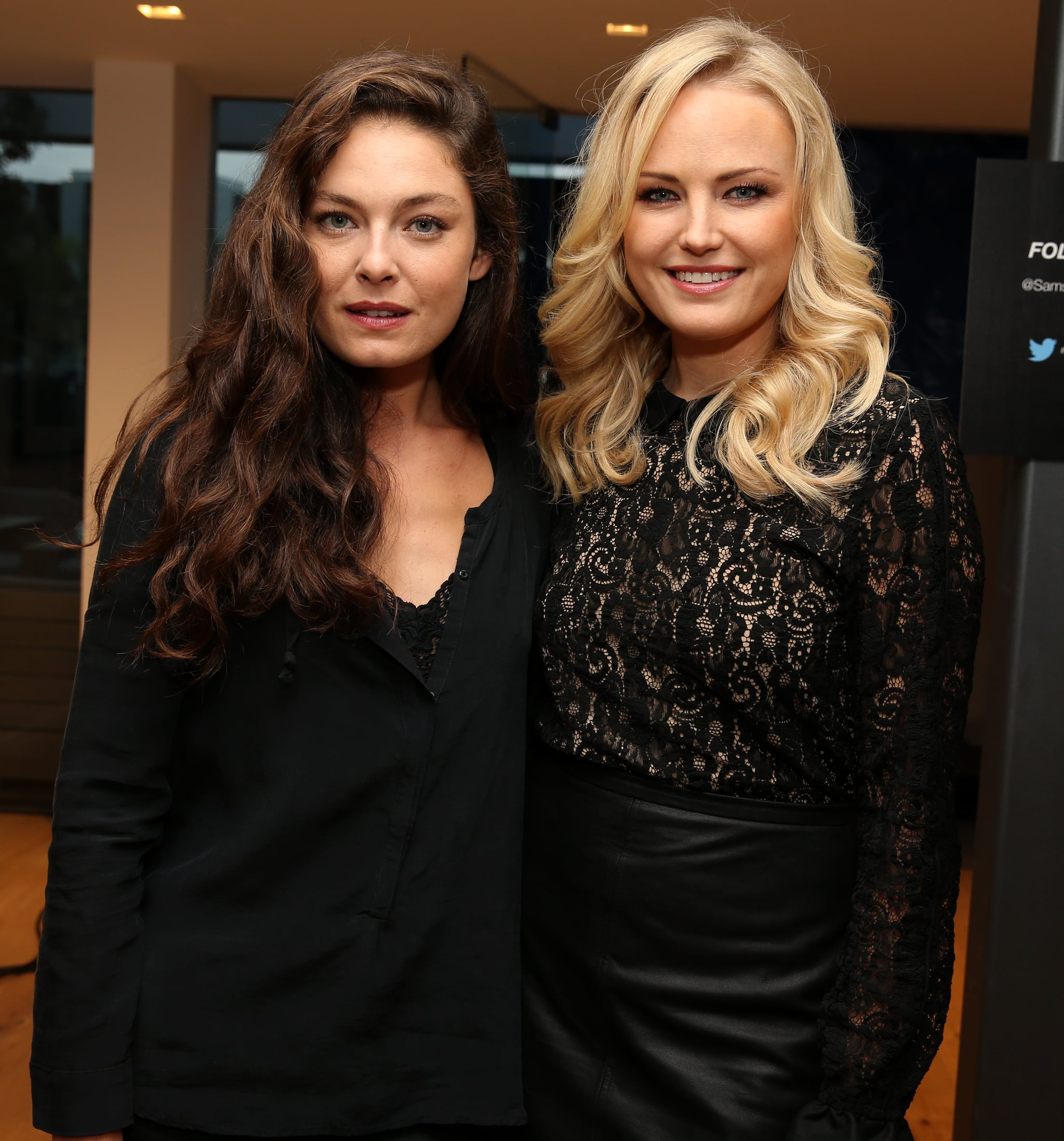 Malin Akerman and Alexa Davalos attended the Variety Awards Studio in LA.