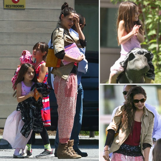 Katie Holmes and Suri Share a Park Playday in Baton Rouge