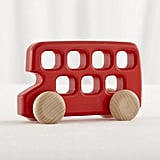 Land of Nod Double Decker Bus Toy