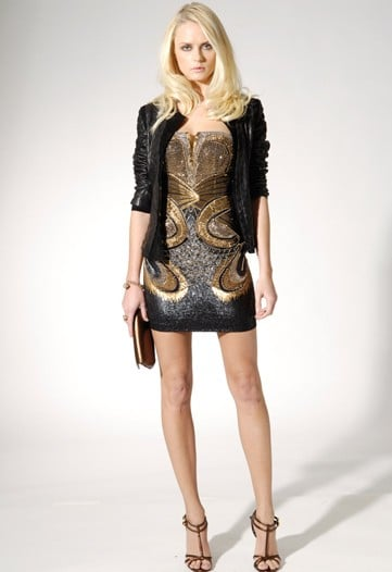 Roberto Cavalli Glitters and Shines in Pre-Fall 2010 Collection