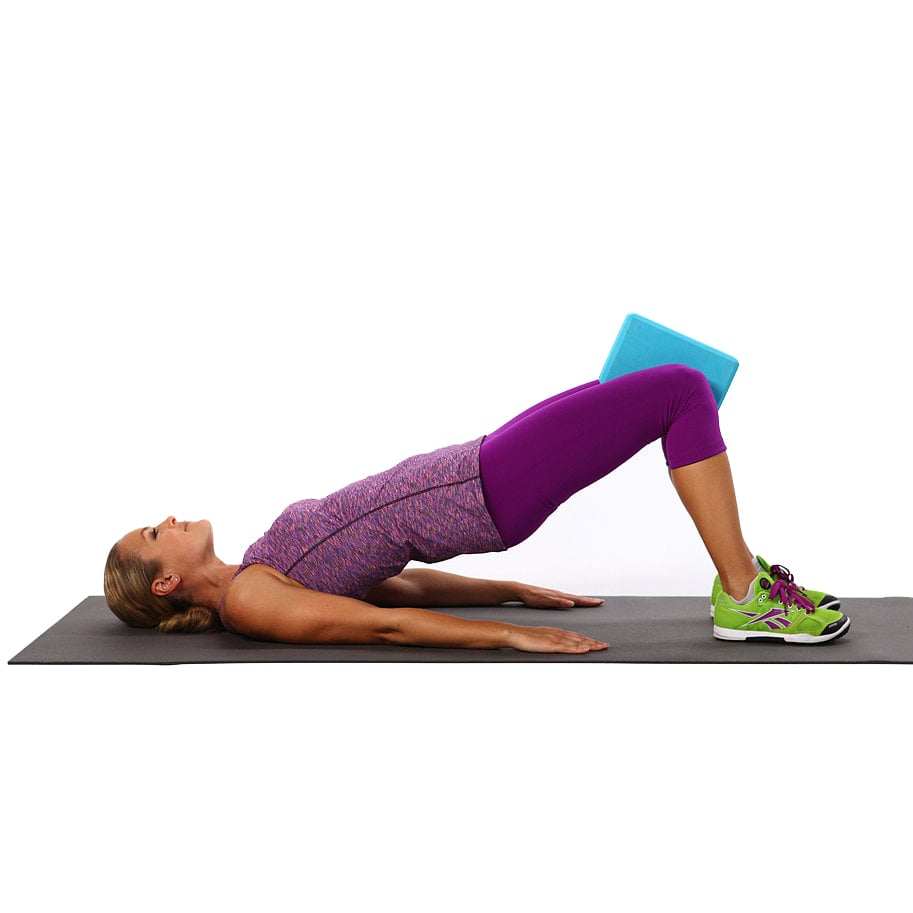 Bridge: 20 Reps and 20 Squeezes