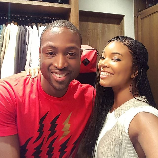 Gabrielle celebrated her 43rd birthday with Dwyane in October 2015.