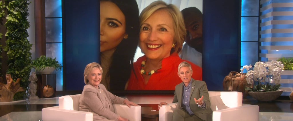 Hillary Clinton Talks About Selfies With Kim Kardashian