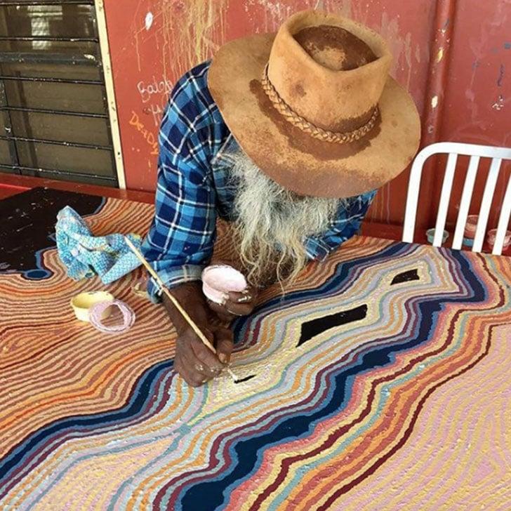 Aboriginal and Torres Strait Islander Artists on Instagram