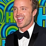 Aaron Paul was all smiles at HBO's Emmys afterparty.