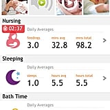 Baby Nursing / Breastfeeding (Timer & Activities log)