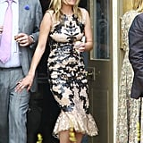 Kate Moss was a guest at Jade Jagger's nuptials.