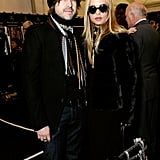 Rodger Berman joined Rachel Zoe for the fashionable festivities.