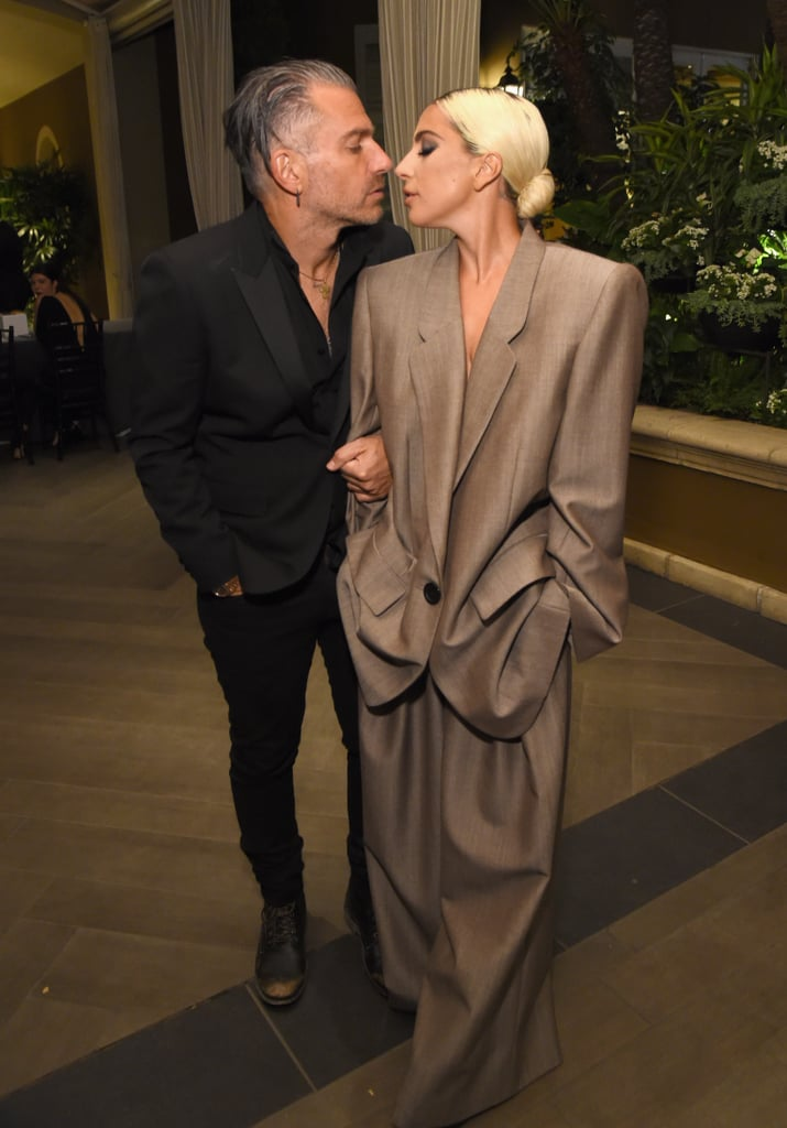 Lady Gaga's Engagement Ring at 2018 Grammys