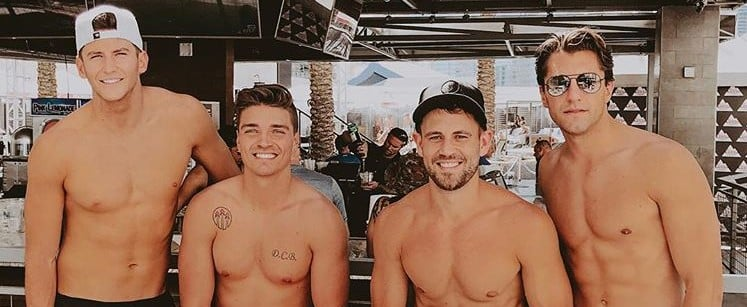 Shirtless Bachelor Contestants