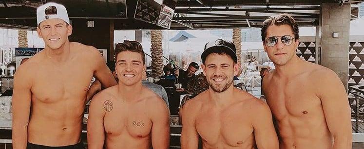 Shirtless Bachelor Contestants