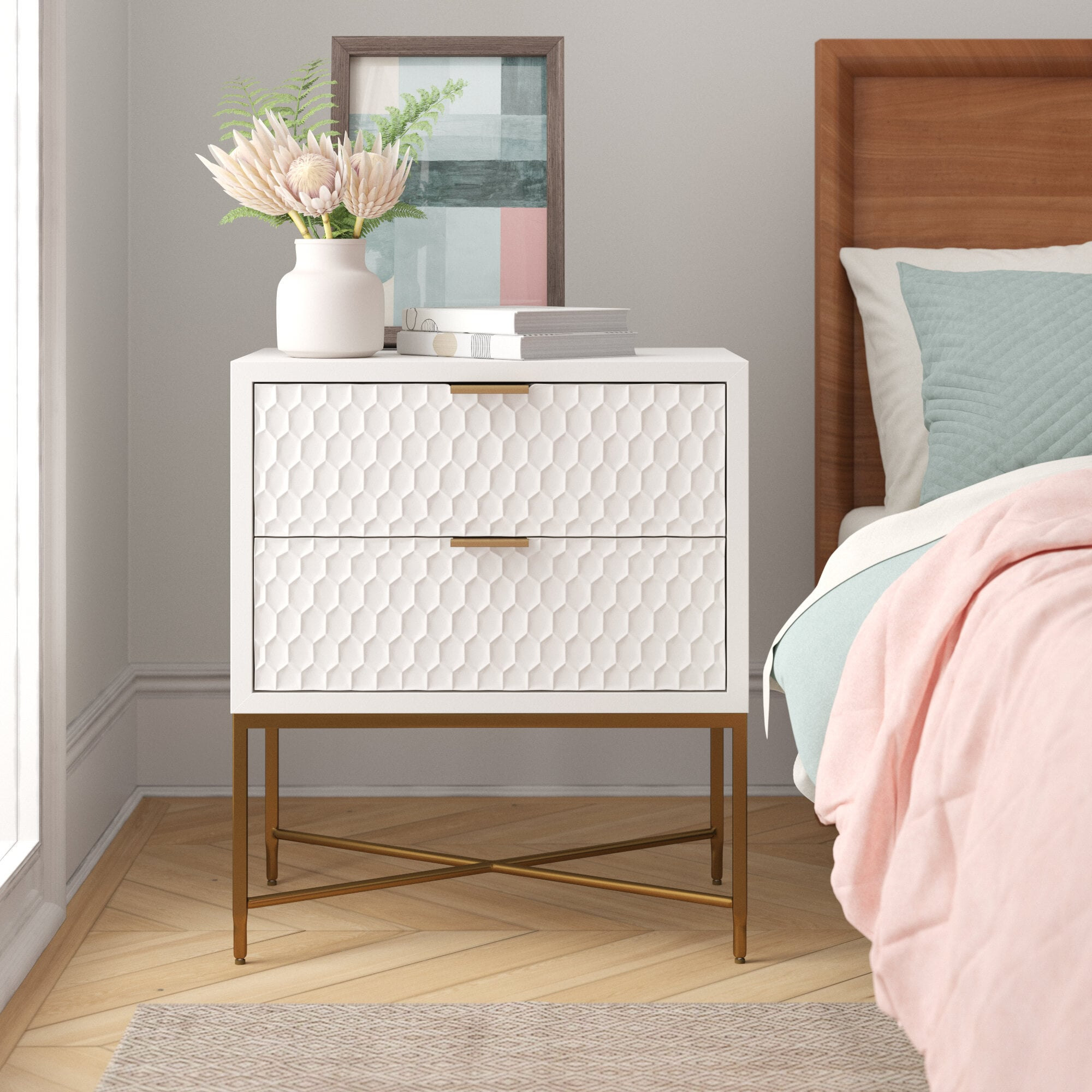 Francesca 2 Drawer Nightstand The 51 Best Deals You Can Score From Wayfair S Big Labor Day Weekend Sale Popsugar Home Photo 36