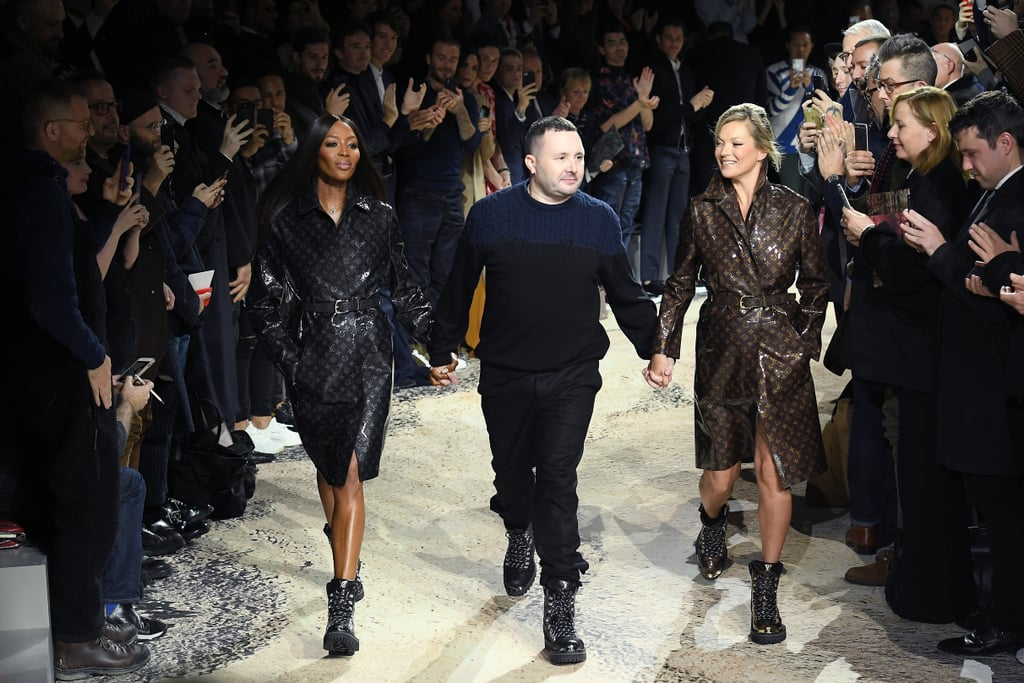Kate and Naomi Remind Us Who's Boss as They Close the Louis Vuitton Menswear Show