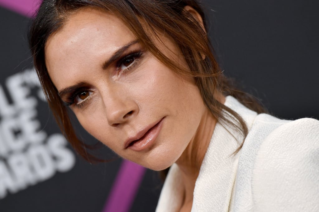 Victoria Beckham Haircut In The Car Peoples Choice Awards