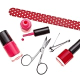 "Gather Your Nail Tools You can't start a DIY pedicure without the right supplies. ""For an at-home pedicure, you should have a double-sided foot file, one-sided coarse file, a 240 grit nail file, and 180 grit buffer,"" said Danielle Candido, lead artist for Morgan Taylor Lacquer. ""You will also need toenail clippers, cuticle nippers, and an ingrown toenail file."" Set the Mood to Help You Relax The reason even a good at-home pedicure doesn't feel half as relaxing as the one you get at the salon is that the environment is all wrong — spas have nice music, comfortable chairs, lit candles. ""Set the mood by playing calming spa music or your favourite chill playlist, said Candido. ""Using headphones for this can boost the zen factor by blocking out other noisy distractions."" But don't just stop there. Make the room smell nice by lighting your favourite candle or using essential oils. ""I also love to add essential oils, like ylang-ylang or lavender, in my pedicure soak. The added aromatherapy really adds the relaxation factor."""