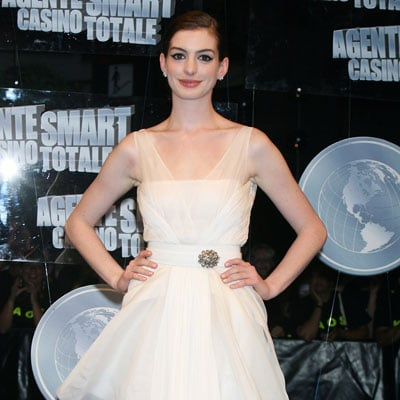 Anne Hathaway at Get Smart Premiere in Rome