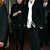 Sienna and Jude made a chic duo at a December 2005 film premiere.