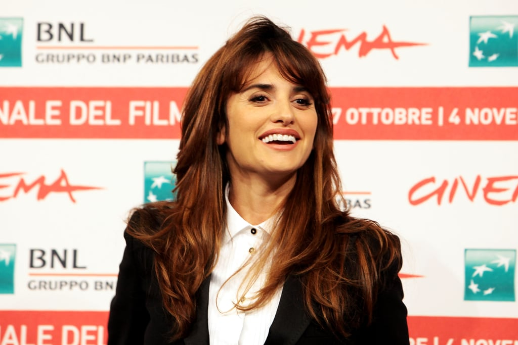 Penelope Cruz was on hand to discuss her current project, Venuto al Mondo.