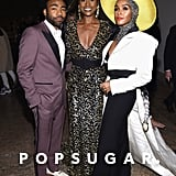 Pictured: Donald Glover, Issa Rae, and Janelle Monae