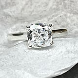 Scott Bonomo Diamonds Cushion Cut Engagement Ring