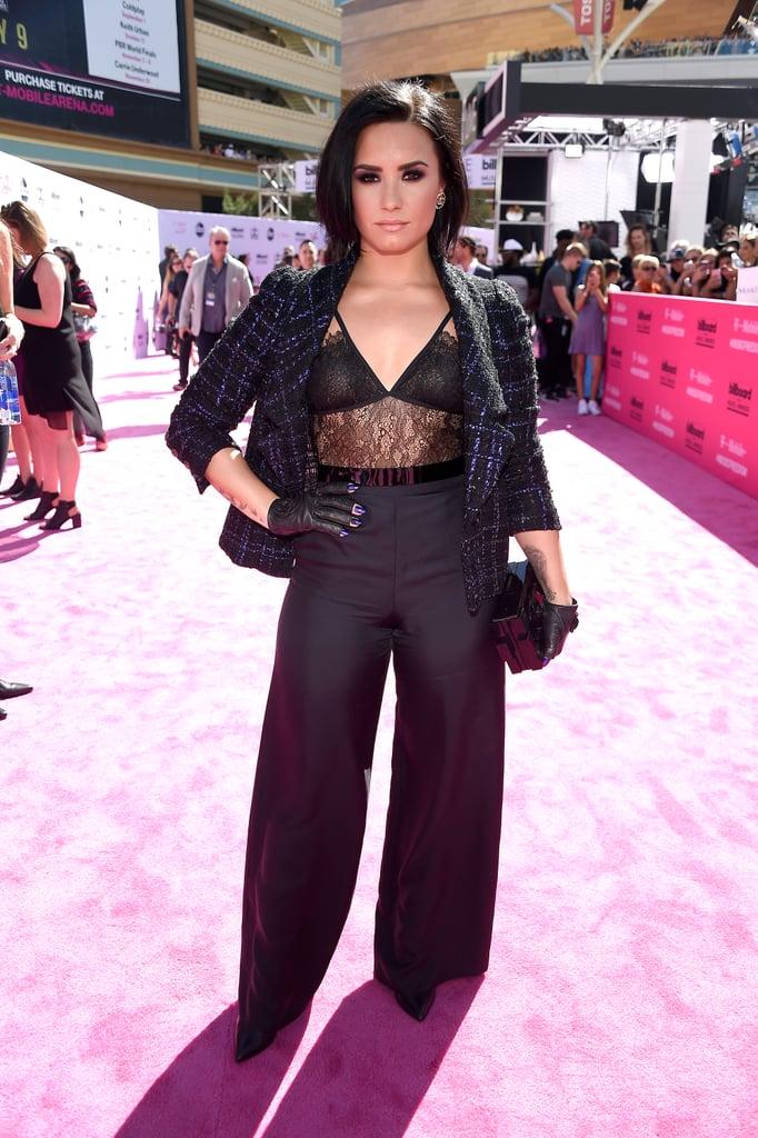 Demi Lovato's Look at Billboard Music Awards 2016
