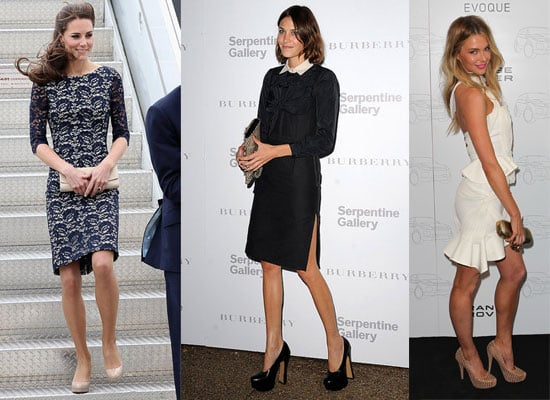 Pictures of This Week's Best Dressed Celebrities Inc Kate Moss, Kate Middleton, Alexa Chung, Diane Kruger and Jennifer Hawkins
