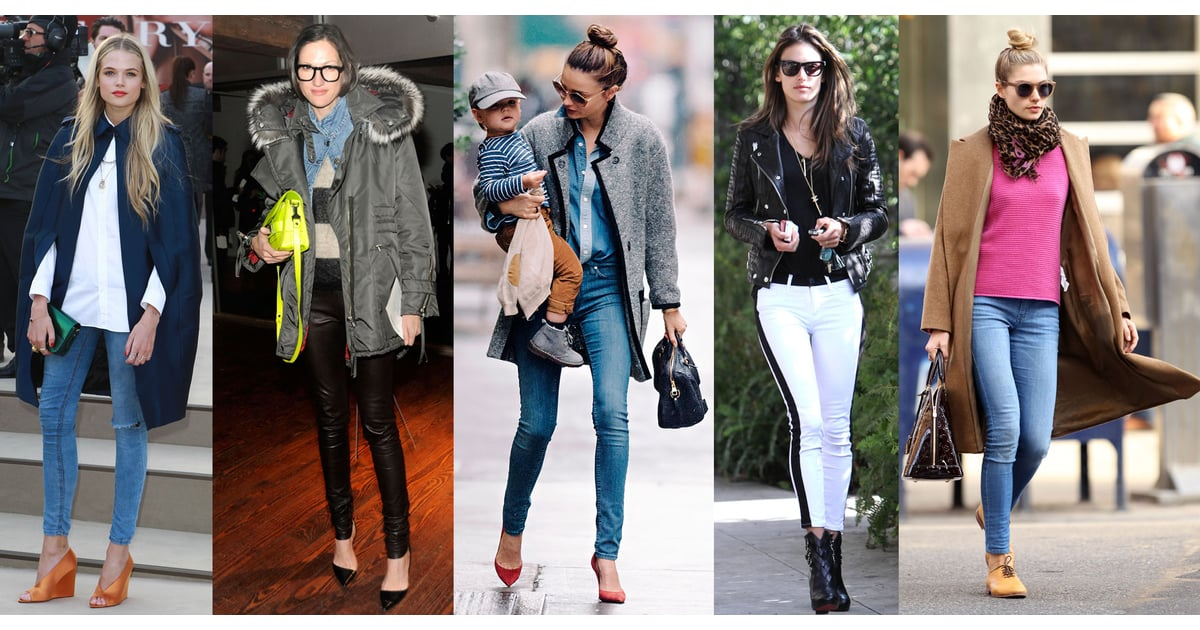The Best Winter Celebrity Street Style Looks To Inspire Popsugar Fashion Australia