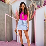 Joan Smalls at Coachella 2019
