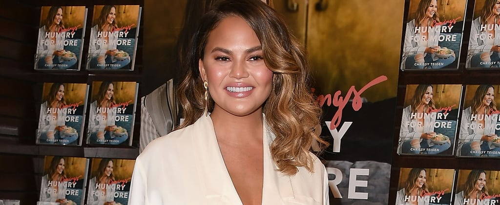 Chrissy Teigen on Weighing 20 Pounds More After Pregnancy