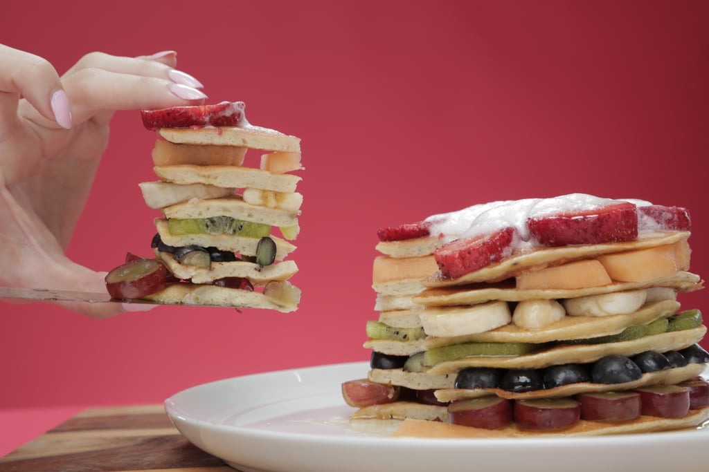Taste the Rainbow With These Healthy and Delicious Pancakes