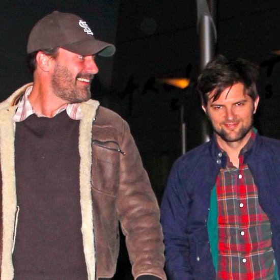 Celebrity Friends Jon Ham & Adam Scott Double Date Night