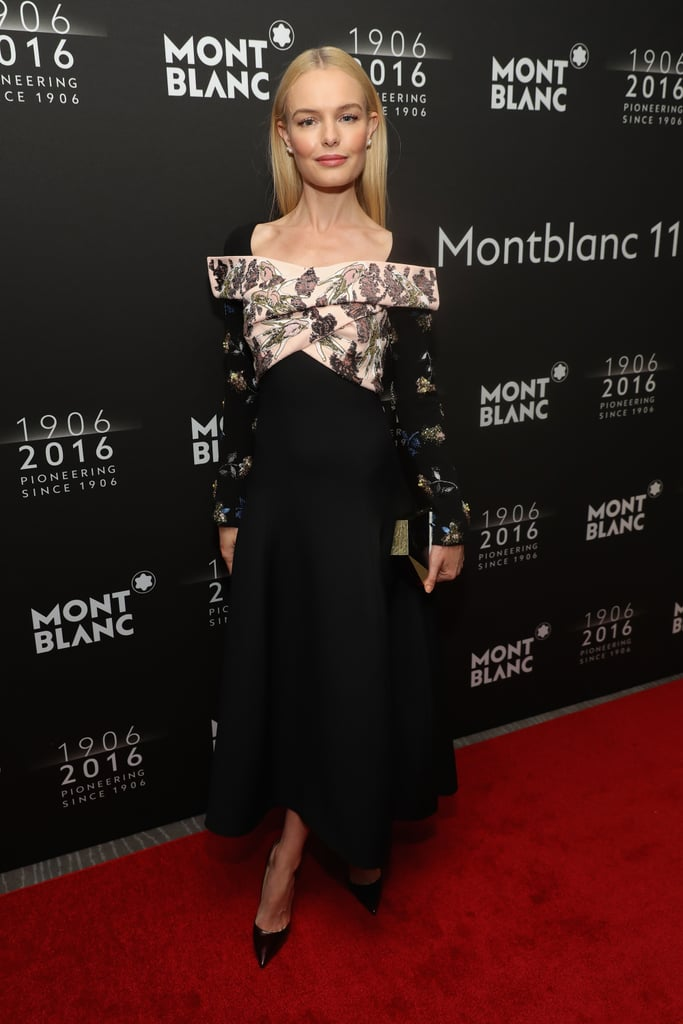Kate Bosworth's Dior Dress at Montblanc Dinner 2016