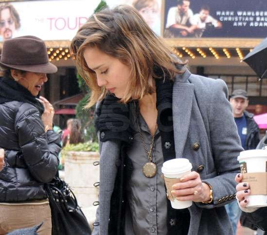 Pictures of Jessica Alba and Honor Warren Shopping at The Grove