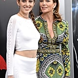 Diane Lane and Daughter at Batman v Superman Premiere 2016