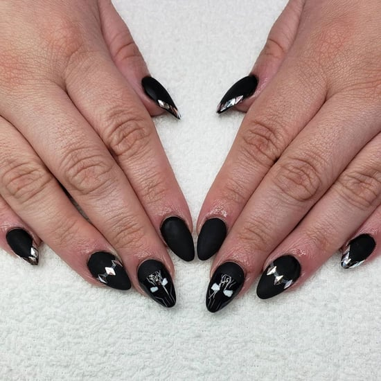 Black Panther Nail-Art Tributes and Photos