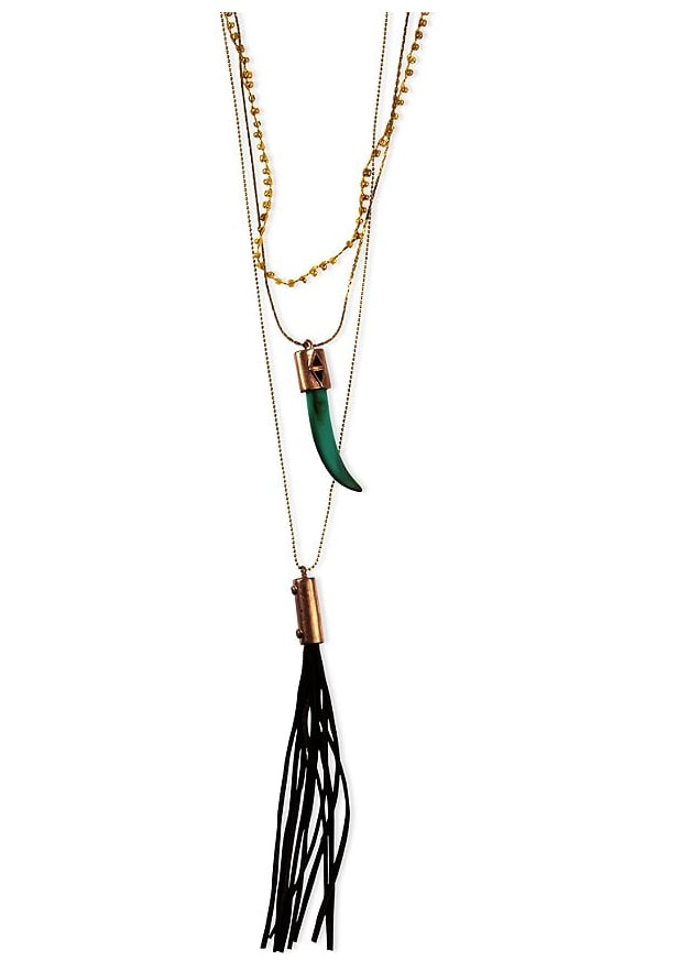 This Rachel by Rachel Roy necklace ($42) might just be the chicest way to get the boho-chic vibe.