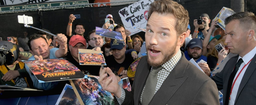 Chris Pratt Talking About Son's Favourite Marvel Hero 2018