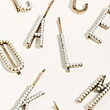Pearl Letter Bobby Pins