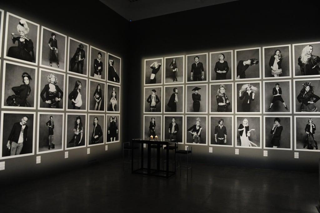 Chanel black jacket exhibition