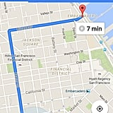 Download the offline Google map of your location.