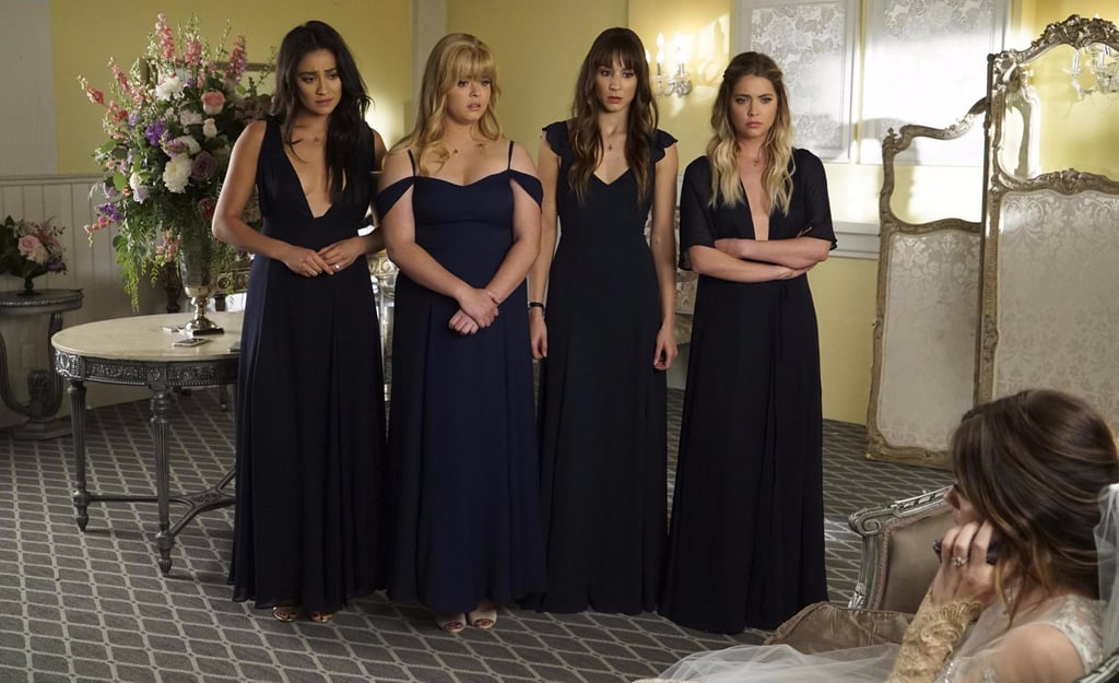Aria S Wedding On Pretty Little Liars Pictures